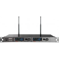 ACT-828 Digital Encryption-Capable Dual Channel Wideband Wireless Receiver