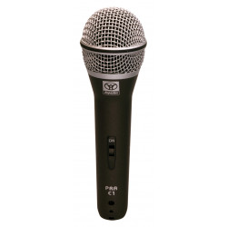 PRA-C1 Supercardioid Dynamic Microphone with On/Off Switch