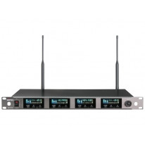 ACT-74 UHF Quad-Channel Wireless Receiver