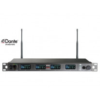 ACT-848 Dante Digital Wideband Encryption-Capable Quad Channel Receiver