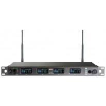 ACT-848 Digital Wideband Encryption-Capable Quad Channel Receiver