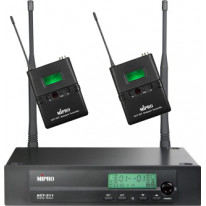 ACT-312B/ACT-32T2 Dual-Channel Bodypack Wireless System