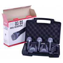 PRA-D5 Supercardioid Dynamic Microphone (5-pack)