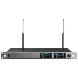 ACT-72 UHF Wideband Dual-Channel Wireless Receiver