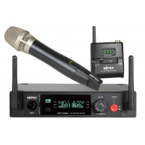 ACT2402/ACTACT-24H&T Dual-Channel 2.4GHz Handheld and Bodypack Wireless System