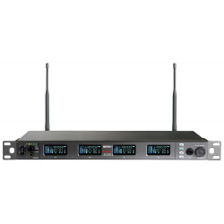 ACT-848 Digital Encryption-Capable Quad Channel Receiver