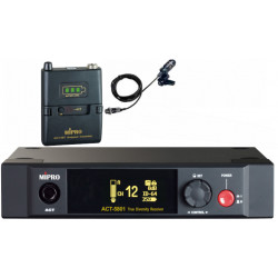 ACT-5801/ACT-58T Single Channel 5.8GHz Bodypack Digital Wireless System