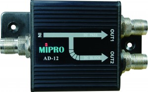 Figure 3:  MIPRO AD-12 passive antenna divider