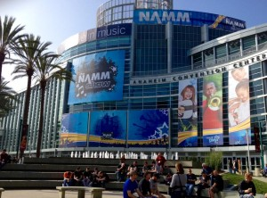 NAMM - Outside
